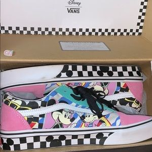 80's Mickey Mouse anniversary vans